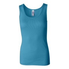 Bella Ladies' 2x1 Rib Tank Top