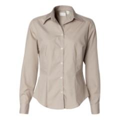 Ladies' Silky Poplin Shirt