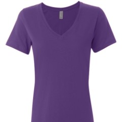 Ladies' Vanity V-Neck Slub T-Shirt