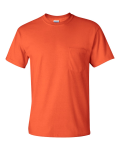 Orange Ultra Cotton T-Shirt with a Pocket
