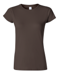 Dark Chocolate Ladies' SoftStyle T-Shirt