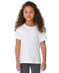 WHITE Toddler Fine Jersey Short-Sleeve T-Shirt