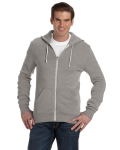 ECO GREY Unisex Long-Sleeve Zip Hoodie