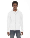 WHITE Unisex Flex Fleece Hoodie
