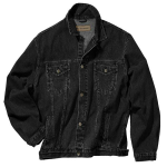 Black Port Authority Authentic Denim Jacket