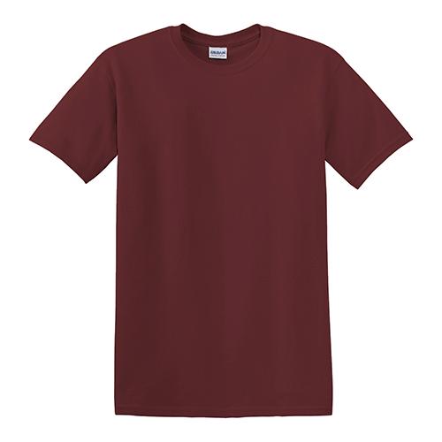 Customize gildan dry blend 50 50 t shirts maroon for Gildan 8000 t shirt