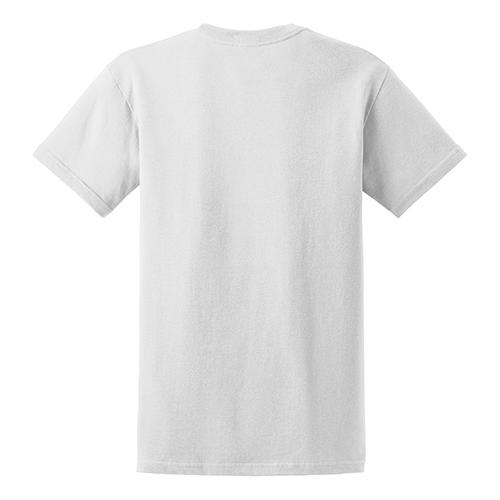 Customize gildan dry blend 50 50 t shirts white for Gildan 8000 t shirt