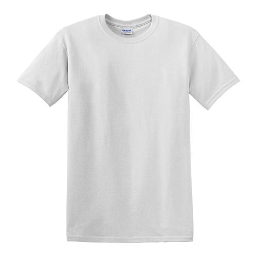 Customize Gildan Dry Blend 50 50 T Shirts White