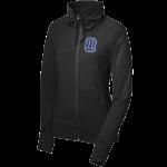 Black Olentangy Braves Foil Full Zip Sport Wicked Jacket