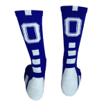 royal Block O Stampede Socks