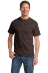 Dk Choc. Brown Port & Company Essential T-Shirt