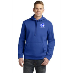 True Royal Sport-Tek Repel Hooded Pullover