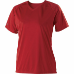 Red Ladies Holloway Zoom Jersey