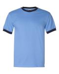 Carolina Blue Navy Ringer T-Shirt