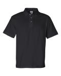 Black Cotton Jersey Sport Shirt