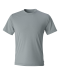 Grey Short Sleeve Performance T-Shirt