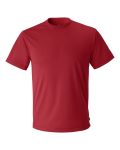 Red Short Sleeve Performance T-Shirt