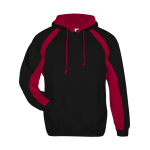Black Red Badger - Hook Hooded Sweatshirt