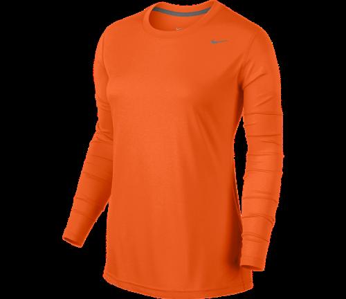 21c10a3f5f1b Nike Women s Legend Long Sleeve Orange