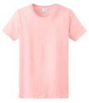 Light Pink Ladies Ultra Cotton