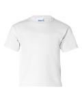 White Youth cotton tee