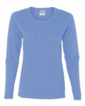Carolina Blue Heavy Cotton Missy Fit Long Sleeve T-Shirt