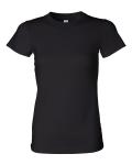 Black 3 Best Ladies Short Sleeve T-Shirt