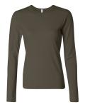 Army 3 Best Ladies Long Sleeve T-Shirt