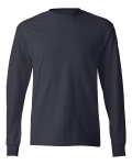 Deep Navy TAGLESS Long Sleeve T-Shirt