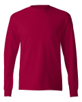 Deep Red TAGLESS Long Sleeve T-Shirt
