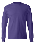 Purple TAGLESS Long Sleeve T-Shirt