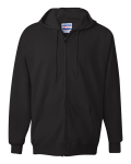 Black PrintProXP Ultimate Cotton Full-Zip Hooded Sweatshirt