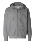 Oxford Gray PrintProXP Ultimate Cotton Full-Zip Hooded Sweatshirt