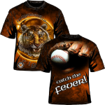 Tiger Baseball Catch the Fever
