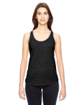 ECO BLACK Ladies' Eco-Mock Twist Ringer Tank