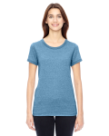 ECO MCK STORM Ladies' Eco-Mock Twist Ideal Ringer T-Shirt