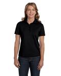 BLACK Ladies' Cotton Polo