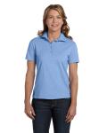 LIGHT BLUE Ladies' Cotton Polo