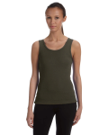 ARMY Ladies' Stretch Rib Tank