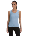 BABY BLUE Ladies' Stretch Rib Tank