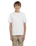 WHITE Youth 100% Cotton T-Shirt