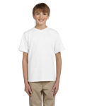 WHITE Ultra Cotton® Youth 6 oz. T-Shirt