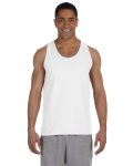 WHITE Ultra Cotton® 6 oz. Tank