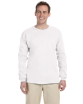 WHITE Ultra Cotton® 6 oz. Long-Sleeve T-Shirt