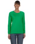 IRISH GREEN Ladies' Missy Fit Long-Sleeve T-Shirt