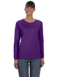 PURPLE Ladies' Missy Fit Long-Sleeve T-Shirt