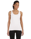 WHITE Ladies' Junior Fit Tank