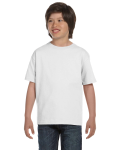 WHITE Youth 50/50 T-Shirt