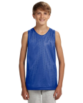 ROYAL WHITE Youth Reversible Mesh Tank Top