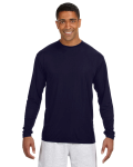 NAVY Long-Sleeve Cooling Performance Crew